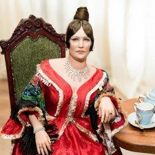 Портретные куклы Оксаны Трей