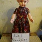 кукла 50-х годов