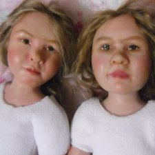 Новенькие куклы Аня и Ася