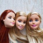Тело и головы Barbie от Mattel