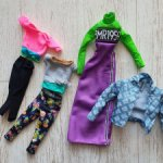 Лот одежды Mattel