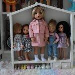 Полка- домик для кукол ,игрушек (2)