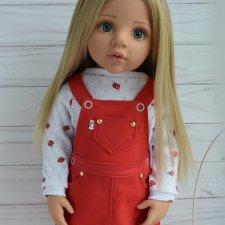 Комплект для кукол Готц,сарафан,свитшот
