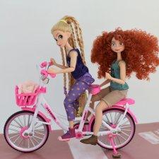 Велосипед для мини кукол ,два вида