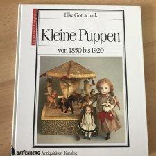 Книга по антикварным маленьким куклам