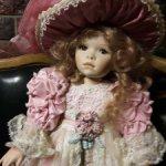 """Маленькая модница """"Pink Promenade"""" by Pamela Erff. Кукла в продаже."""
