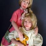 Две неразлучные сестрички Огиль и Анне от Одиль Сегю.