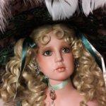 """Фарфоровая кукла """"Изумруд"""" от Русти. При единоразовой оплате  можно предлагать свою цену. Рассрочка."""