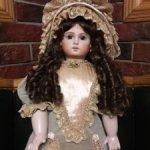 Реплика французской куклы Emile Junean . Скидка 31300!
