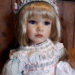 Чудесная девочка Grefeen  со своей куколкой от Joan Blackwood. Лимит 300 шт.