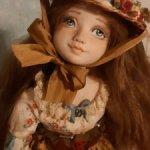 Кукла Софи от Ирины Носковой. Цена временно7,5 вместо10,5)