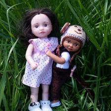 Комочки радости. Авторские куклы  Анны Горчаковской