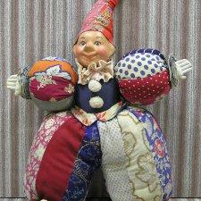 Реставрация куклы Клоуна. 30-е гг. 20 в