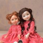 Кружевное платье для Ruby Red и Paola Reina
