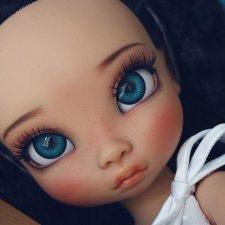 Нужен совет по диаметру глаз для кукол Disney Animators' Collection