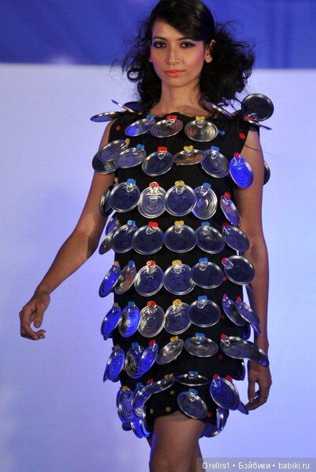 Изготовление Платья Из Подручных Материалов