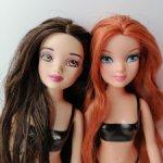 Две куколки Шрек- принцессы Фиона и Белоснежка , 2007 г.