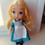 Мини куколка Дисней Алиса. Снижение цены 900 рублей.