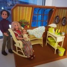 Sunshine family игровой набор, детская комната. Высота 22-24 см. Снижение цены.