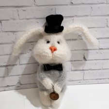 Мистер Норберг - игрушка вязанные крючком