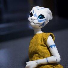 Тари, авторская шарнирная кукла