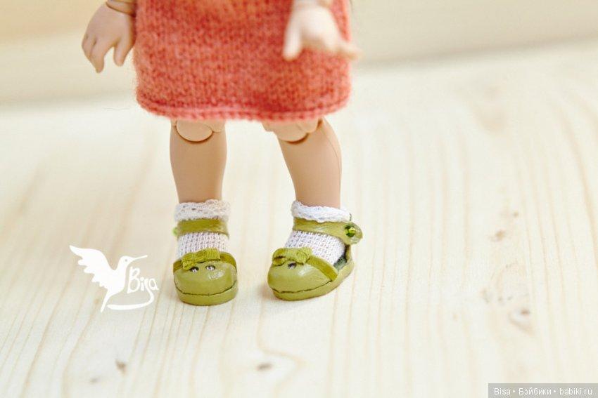 зеленые сандалики для пукифи