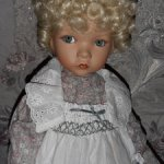 Mary. Mother Goose. Dianna Effner doll.