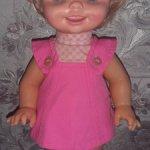 Saucy Mattel.  1972 год. Мимическая кукла. Непоседа-хулиганка.