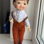 Мальчишечка Никко файр Пельмешек Nicco Dumpling Meadows doll