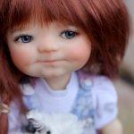 Тановая девочка Элла Пельмень Ella Dumpling Meadows doll
