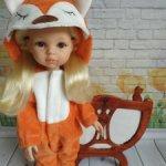 Пушистый костюм лисички