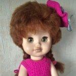 Две куколки-россиянки и три резиновые игрушки времен СССР - одним лотом