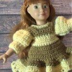 10 платьев для кукол Крузелинг лотом - цена за пакет