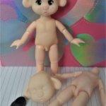 """Шарнирная свинюшка - кукла """"сделай сам"""""""