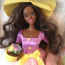 Темнокожая Барби Spring Blossom