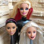 Фирменные головы от кукол Барби