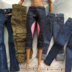 Джинсы и брюки для Барби (Mattel, Spin Master)