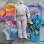 Оригинальная одежда для Барби-пышки