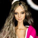 Стильный парик для кукол Tender Creation и Popovy dolls