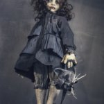 Авторская подвижная кукла