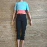 """Тело в аутфите рыженькой Барби йоги """"Безграничные движения"""" 2 волна (2)"""