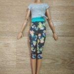 """Тело в аутфите Барби йоги """"Безграничные движения""""  с гулькой"""
