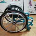 Инвалидное кресло от Барби Фашионистас 133 (5)