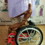 Тело с креслом Барби Фашионистас 166