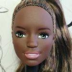 """Голова Барби йоги афроамериканки """"Безграничные движения"""" (2)"""