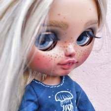 Платья для куклы Блайз (ручная роспись)