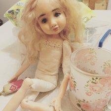 Ундина - авторская интерьерная кукла