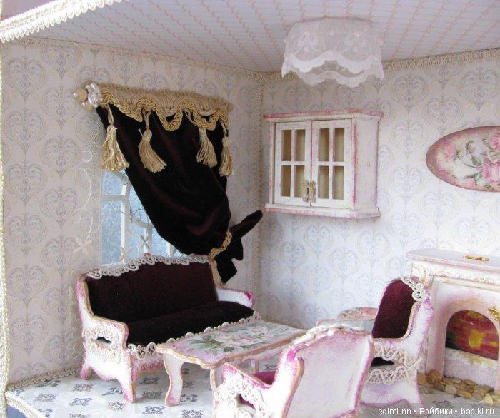 Кукольная мебель в гостиную