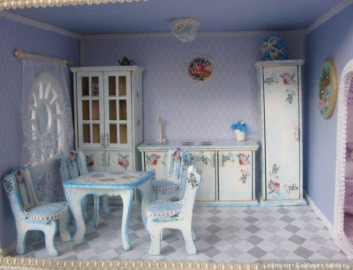 Кукольная мебель Кухня