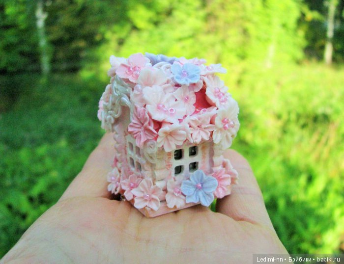 Микро домик Розовая фея